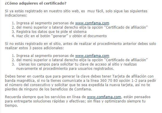 Adquirir certificado